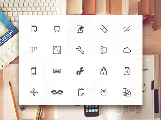10-Design-&-Development-Icon-Free-PSD