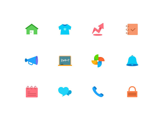 12-color-Icon-PSD