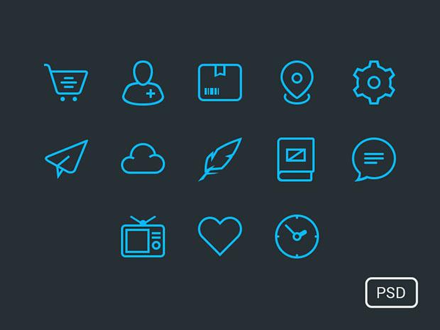 13-Free-Icon-Set