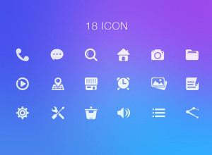 18-Simple-Icon-psd
