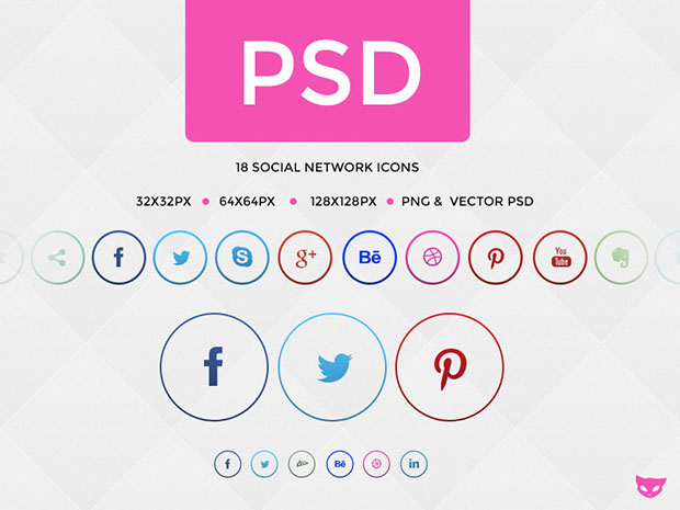 18-Social-Network-Buttons-in-Circle-Icons