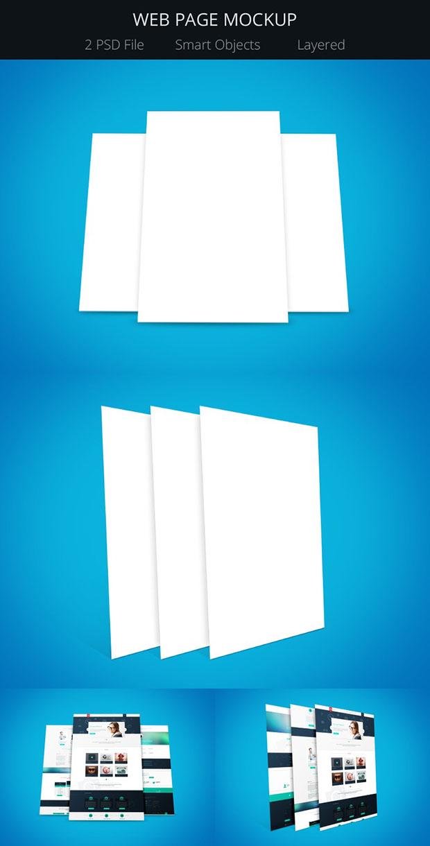 2-Modern-Web-Page-Mockups