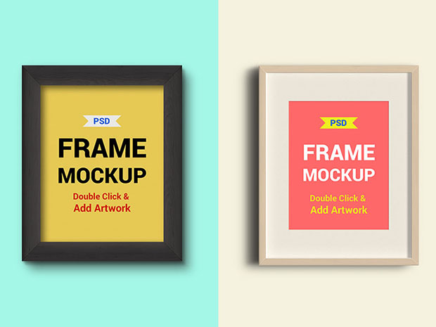 2-Photo-Frames-PSD-Mockups