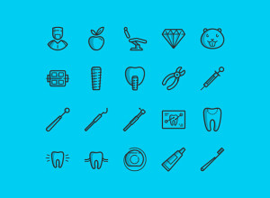 20-Free-Dental-icons