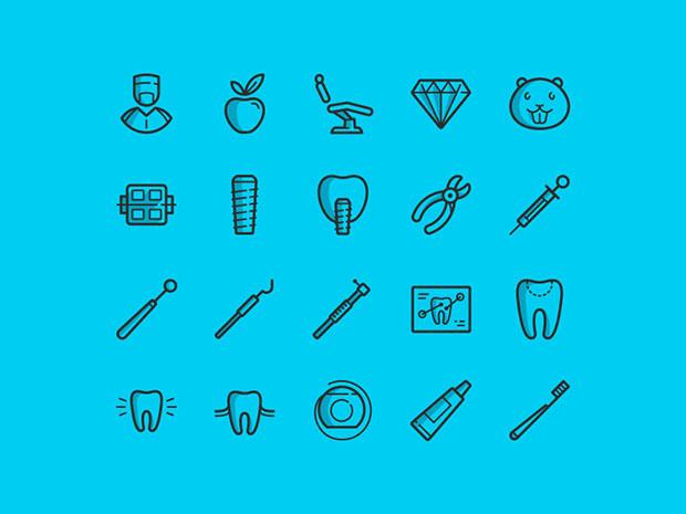 20-Free-Dental-icons