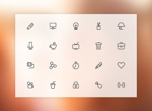 20-Free-Vector-Line-Icons