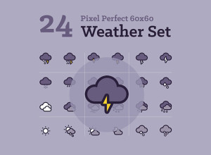 24-Weather-Icons-Freebie