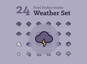 24-Weather-Icons-Freebie