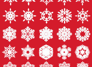 25-Free-Vector-Snowflakes