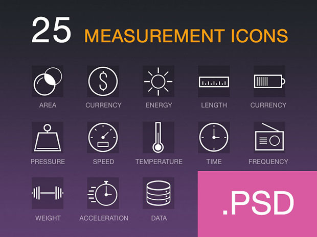 25-Measurement-icons