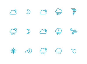 25-Weather-Icons