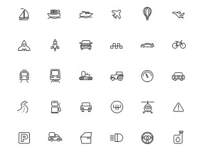 30-Freebie-Transport-Icons