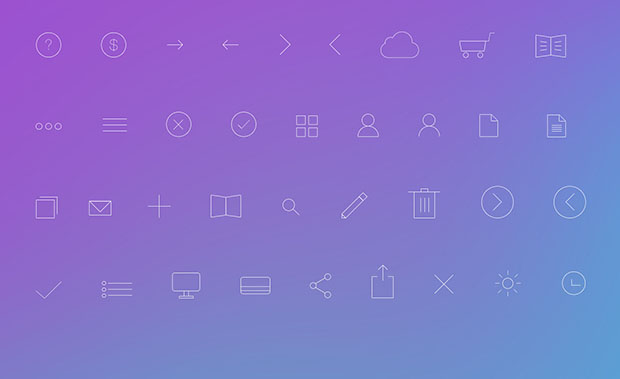 36-Simple-Line-Icons-PSD