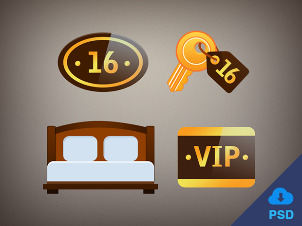 4-Free-Flat-Hotel-Icons-PSD