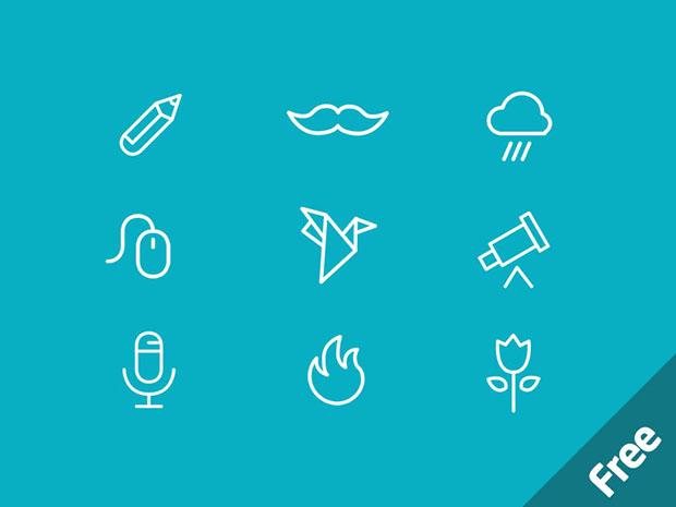 40-Free-icons-PSD
