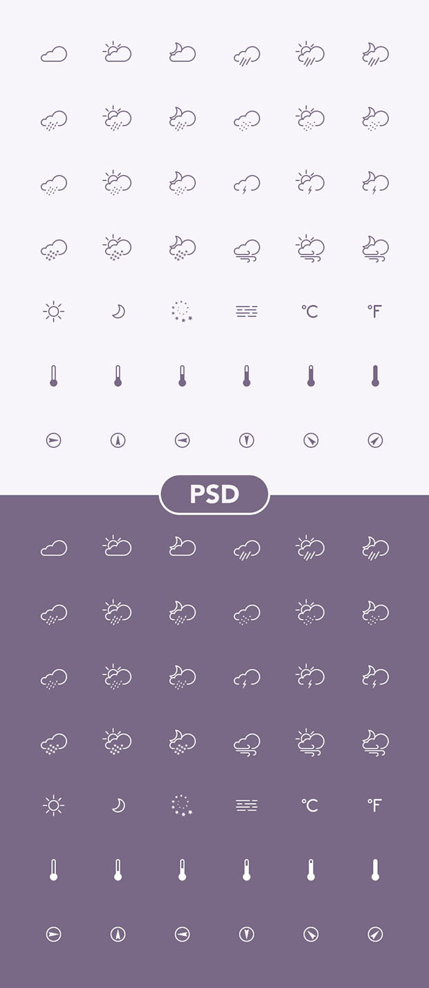 42-Weather-Icons