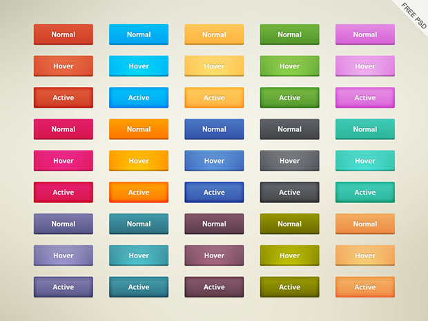 45-Free-Cool-Buttons-Psd