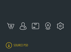 5-Icons-PSD