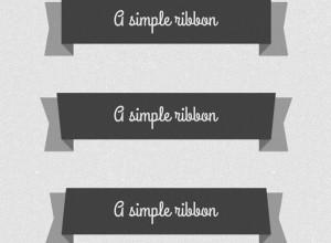 5-Psd-Flat-Elegant-Ribbons