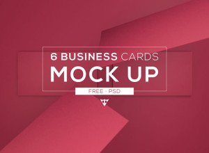 6-Business-cards-Mockup-Free