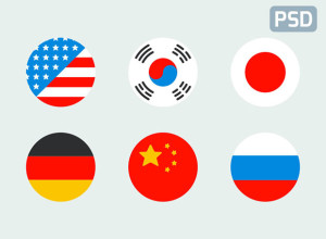 6-Flat-flags-icon