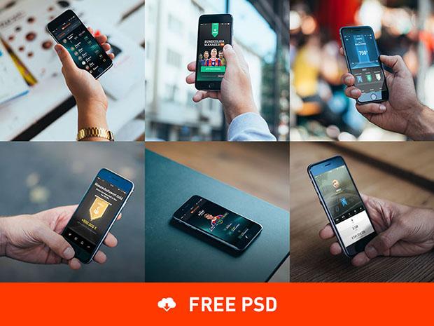 6-Photorealistic-iPhone-6-mockups
