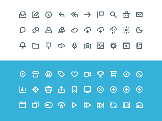 60-Flat-Free-Icon