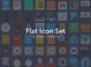 75-Flat-Icon-Set-PSD