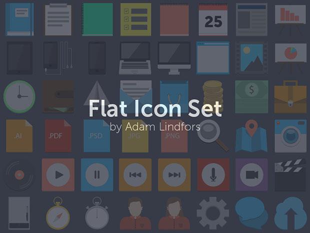 75-Flat-Icon-Set-PSD
