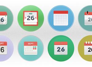 8-Calendar-Icons-Set