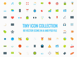 80-Tiny-Vector-Icons-Collection-Freebie
