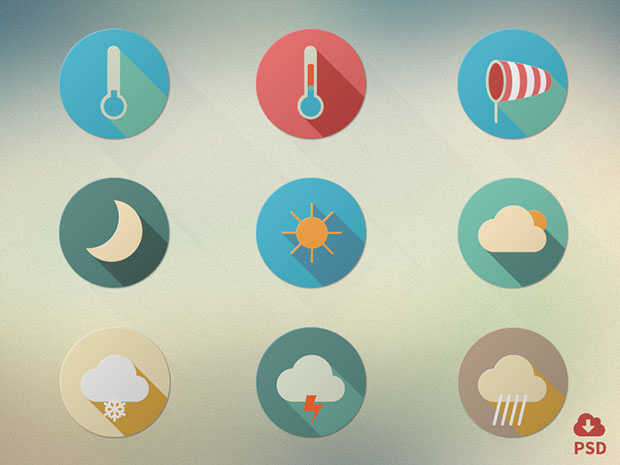 9-Flat-Weather-Icon