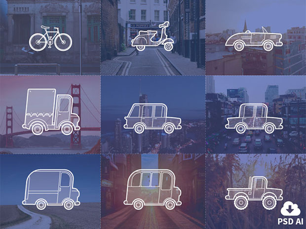 9-Free-Outline-Vehicle-Icon