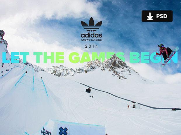 Adidas-snowboarding-PSD