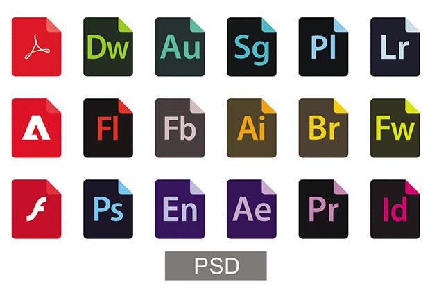 Adobe-File-Type-New-Icons