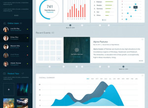 Adventure-Company-Dashboard-PSD