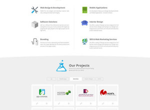 Agency-website-template-Free