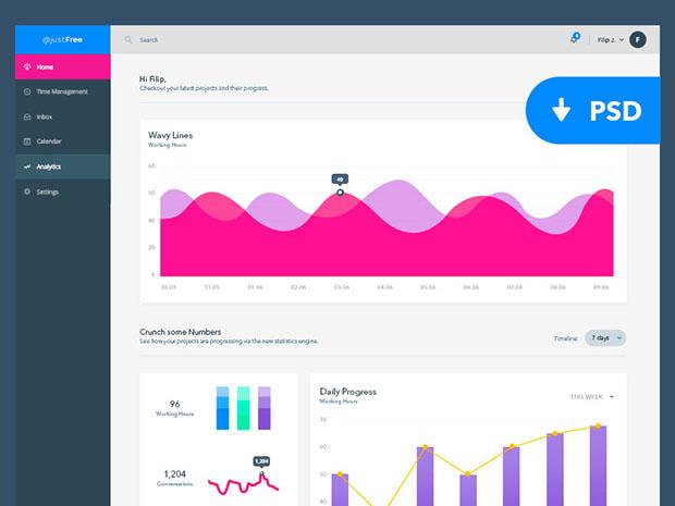 Analytics-Dashboard-UI-KIT-Freebie