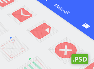 Android-L-icon-Template-PSD