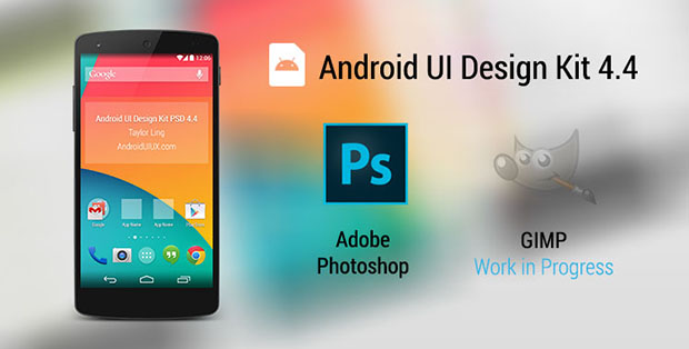Android-UI-Design-Kit-for-Photoshop