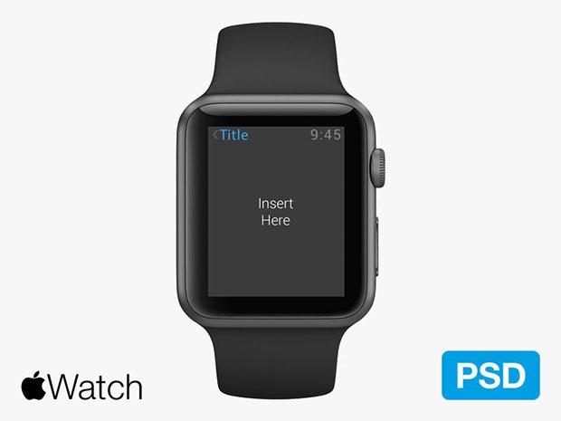 Apple-Watch-Psd