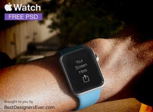 Apple-Watch-Template-free-PSD