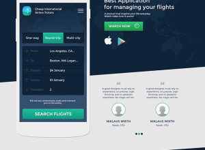 Application-Landing-Page-UI