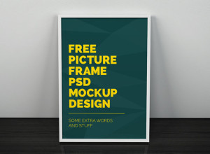 Artwork-Frame-PSD-Mockup