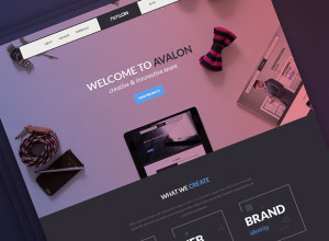 Avalon-Creative-Studio-Homepage-Freebie