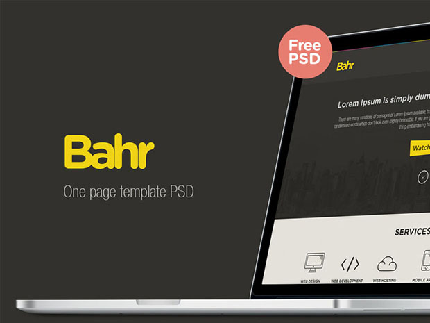 Bahr-one-page-template-psd