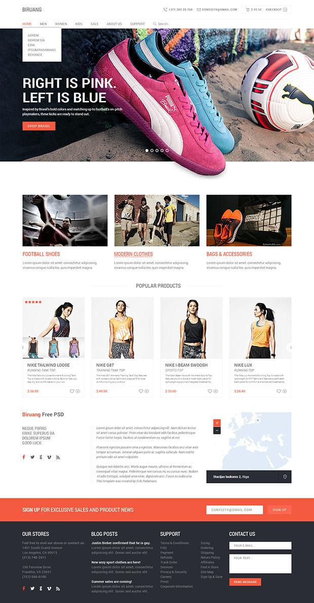 Biruang-Free-eCommerce-PSD