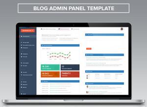 Blog-Admin-Panel-PSD