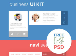 Business-UI-KIT-Free-PSD