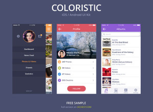 COLORISTIC-iOS-Android-UI-Kit